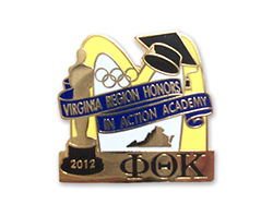 2012 Regional Honors Institute Pin